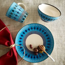 POTTER'S WORKSHOP TABLEWARE - BLUE