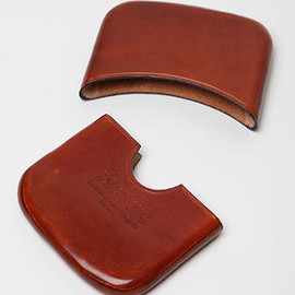 MAISON MARTIN MARGIELA - 11 TWO PIECE LEATHER CARD HOLDER