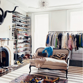 Jenna Lyons Home - dressing room