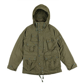 ENGINEERED GARMENTS - Field Parka-Poplin-Olive