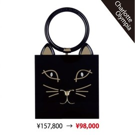 Charlotte Olympia - キティークラッチバッグ(Kitty Clutch)