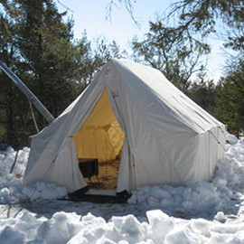 Snowtrekker - canvas tents