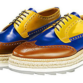 PRADA - Wingtip Shoes (Multi)
