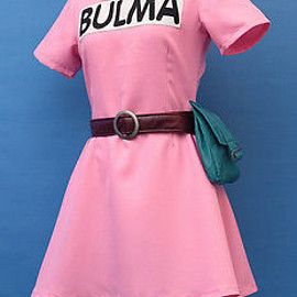 unknown - Bulma Ver 1  Cosplay Costume Custom Made