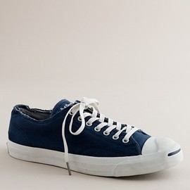 J.CREW - Converse® distressed Jack Purcell® sneakers