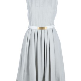 FENDI - BELTED DRESS