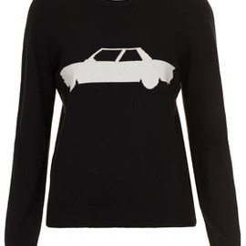TOPSHOP - Mustang Sweater By J.W. Anderson for Topshop