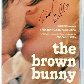 Vincent Gallo - The Brown Bunny (Japanese DVD)