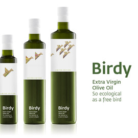 olive and bird