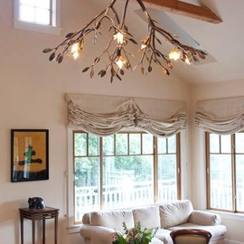 Shawn Lovell Metalworks - Tree branch chandelier