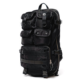 foot the coacher, PORTER - Milspec Back Pack - Black