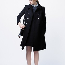 Carven - Double-Breasted Compact Drape Coat
