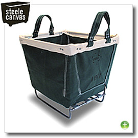 STEEL CANVAS - CARRY BASKET