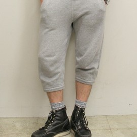 LOOPWHEELER - cropped sweat pants