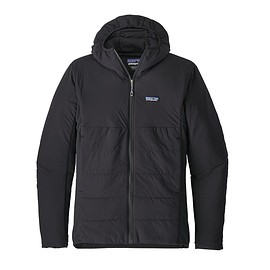 patagonia - patagonia nano air light hybrid hoody, Black (BLK)