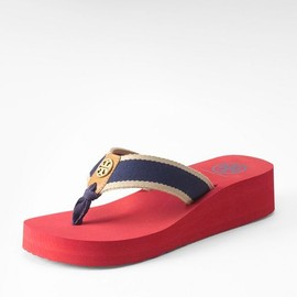 TORY BURCH - ray WEDGE FLIP FLOP