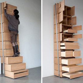 Danny Kuo - Staircase: Space Saving Storage