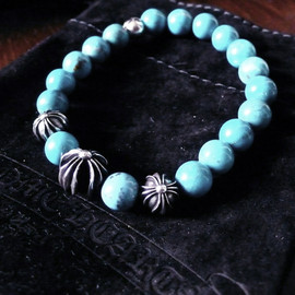 "CHROME HEARTS - CHROME HEARTS ""Turquoise bracelet"""