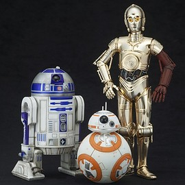 KOTOBUKIYA - STAR WARS ARTFX+ R2-D2 & C-3PO with BB-8