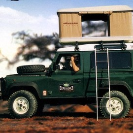 RAND ROVER - Deffender 90 Camping