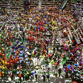 "Andreas Gursky - ""Chicago Board of Trade"""