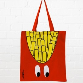 Lazy Oaf  - French Fries Tote Bag