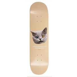 Golf Wang - SHARK CAT SKATEBOARD PEACH 8""