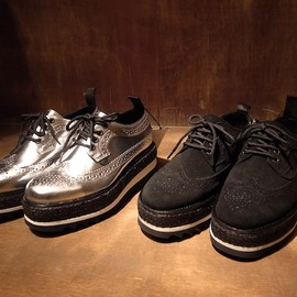 Underground Shoe×k3&co. Lace up wedge