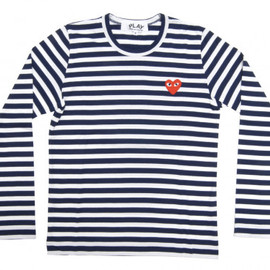 PLAY COMME des GARCONS - Red Play T-Shirt (Stripes)
