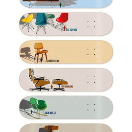 Girl Skateboard Company - Eames Chair Skate Deck Series