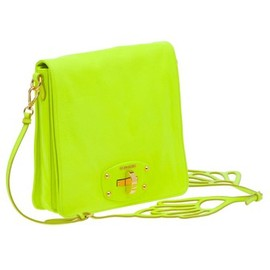miu miu - 2011SS Neon Yellow Bag
