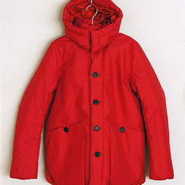 ACTS - [ACTS] CWU HOOD COAT (RED)