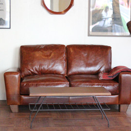 ACME FURNITURE - FRESNO LEATHER SOFA