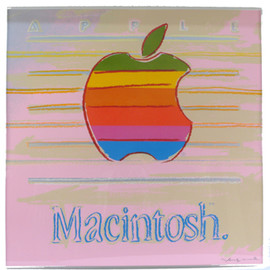 Andy Warhol - Apple Macintosh Silk Screen Color Print