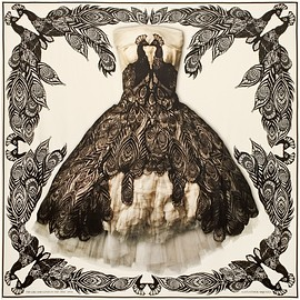 Alexander McQueen - Savage Beauty Capsule Collection scarf