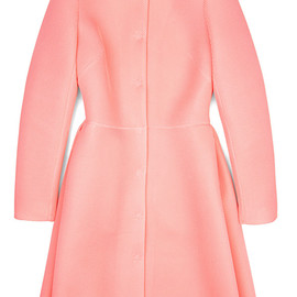SIMONE ROCHA - Knitted Wafer Mesh Fitted Coat