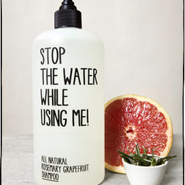 STOP THE WATER WHILE USING ME! - ROSEMARY GRAPEFRUIT SHAMPOO