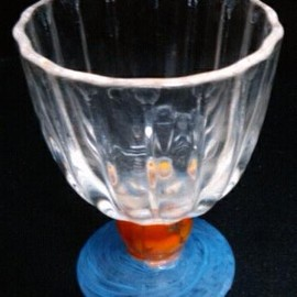 small glass fr 1970's