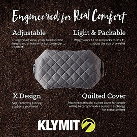 KLYMIT - LUXE CAMPING PILLOW