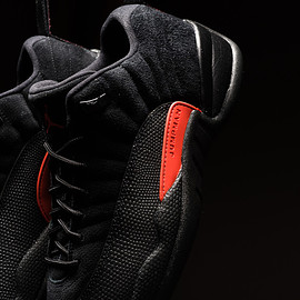 Jordan Brand - Air Jordan 12 Retro Low - Black/Max Orange/Anthracite