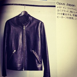 Opus Japan - Single Riders Jacket