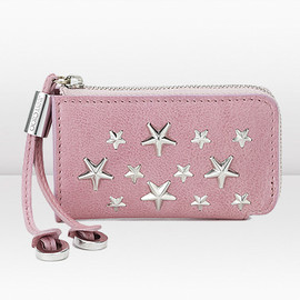 JIMMY CHOO - Peony Calf Leather With Stars Coin Purse