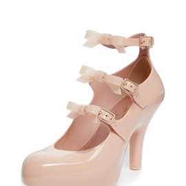 Vivienne Westwood - Nude Elevated Three Straps with Bow