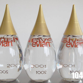evian - year bottle 2001