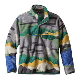 patagonia - M's Lightweight Synchilla® Snap-T® Pullover, Hi Country: Legend Green (HCLG)