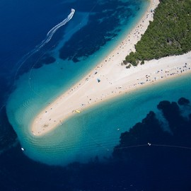 Croatia - Zlatni Rat - Golden Horn beach