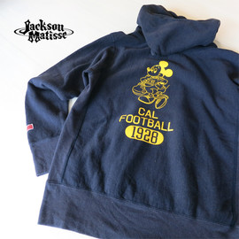 JACKSON MATISSE - リバースウィーブ Mickey Mouse Parka (Navy)