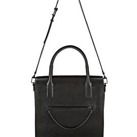 ALEXANDER WANG - LARGE CHASTITY IN BLACK WITH MATTE BLACK
