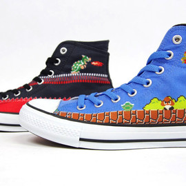 CONVERSE - ALL STAR MARIO BROS. SC HI