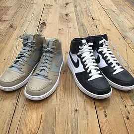 NIKE - UNDERCOVER × NIKE COURT FORCE HI 2COLORS